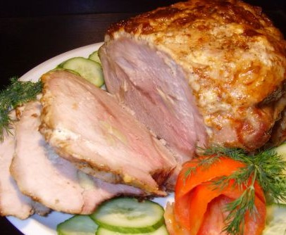 Готовим буженину из свинины