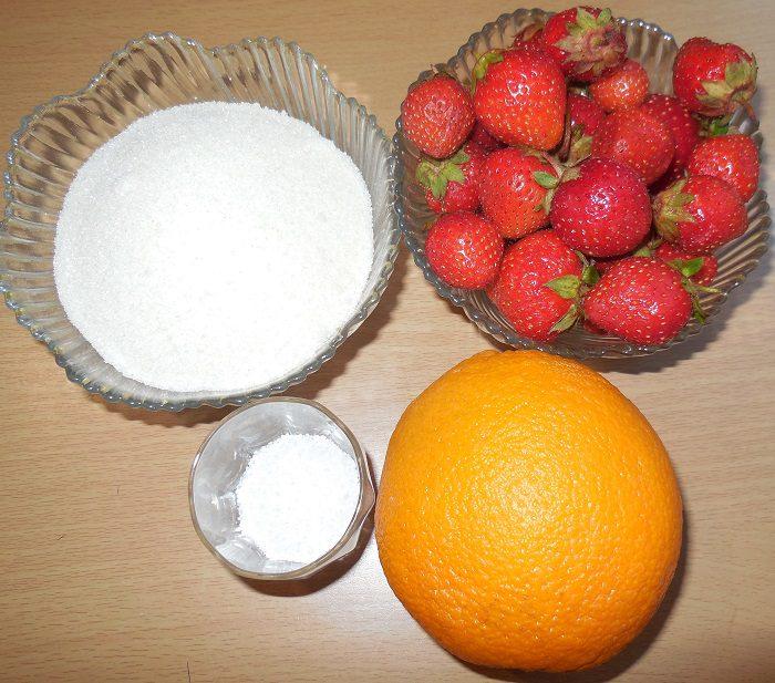 Клубника на зиму без варки или сырой джем из клубники