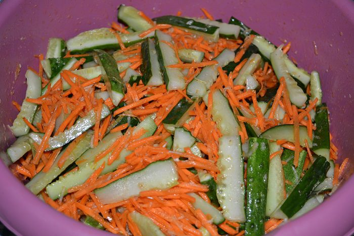 Маринад для огурцов по корейски с морковью