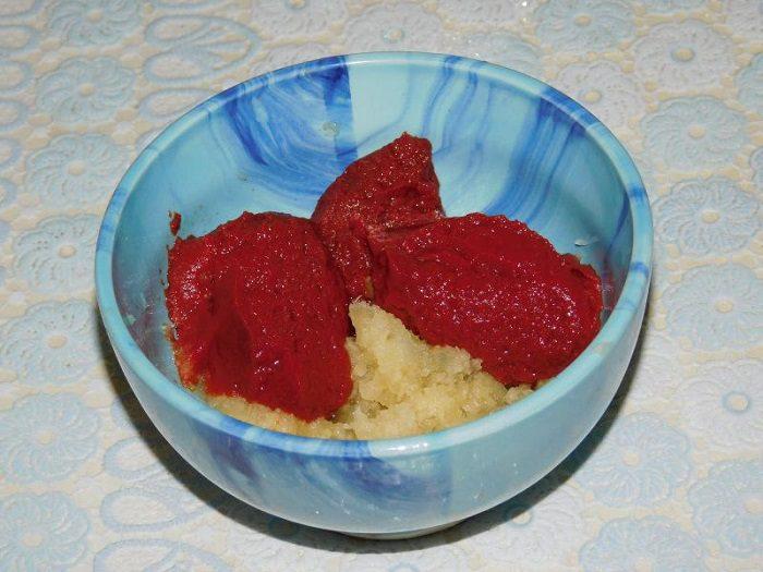 Кетчуп из красной алычи