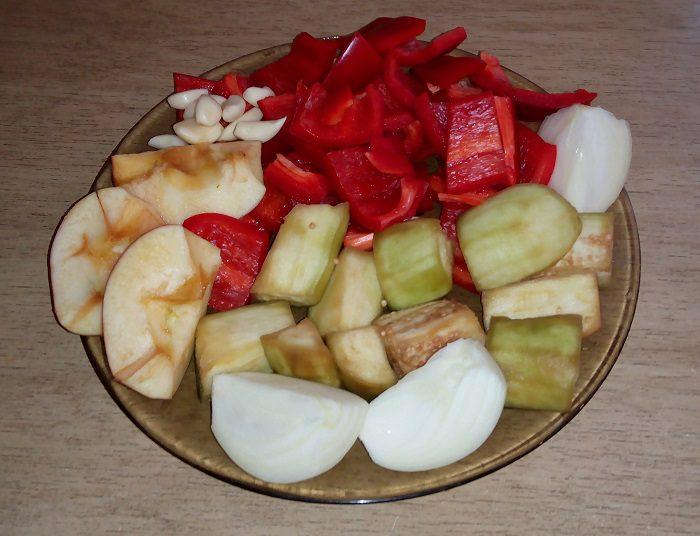 салат десятка из баклажанов пошаговый рецепт