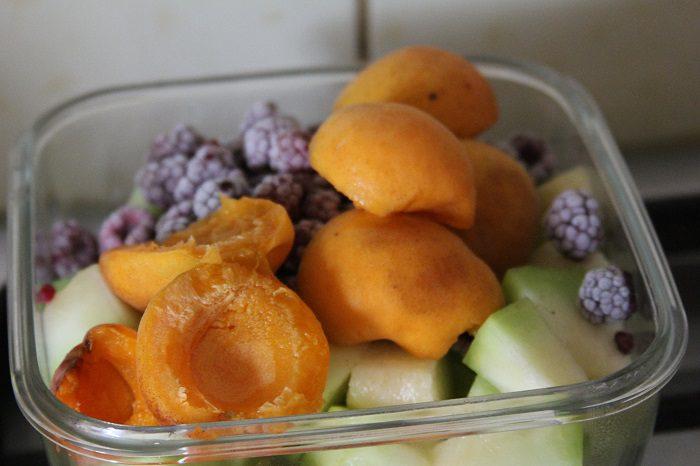 Домашняя пастила из дыни, абрикос и малины