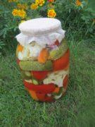 Маринованное овощное ассорти