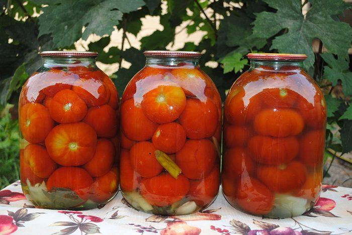 Сладкие маринованные помидоры в банках на зиму