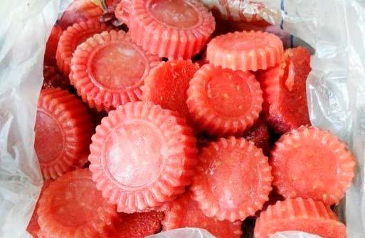 Замороженное томатное пюре