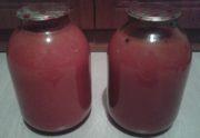 Томатный сок с мякотью на зиму