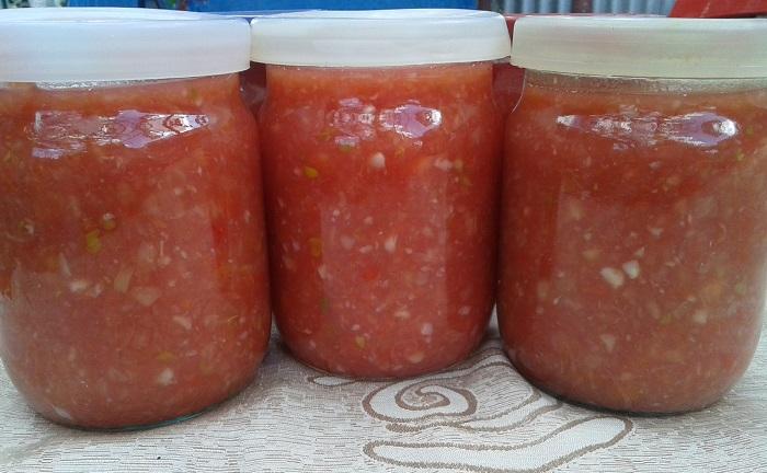 рецепты аджики сырой с солеными помидорами