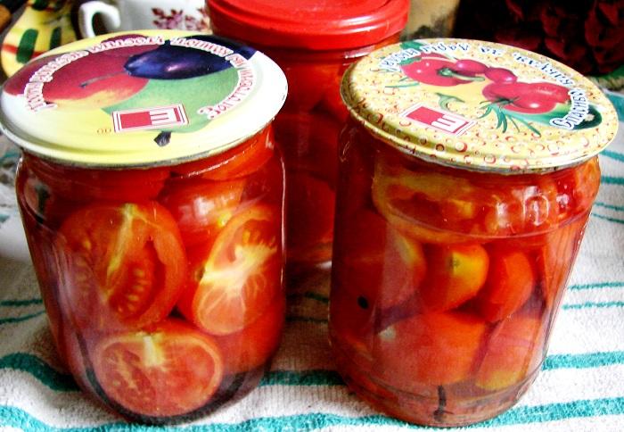 рецепт соления помидор в желе