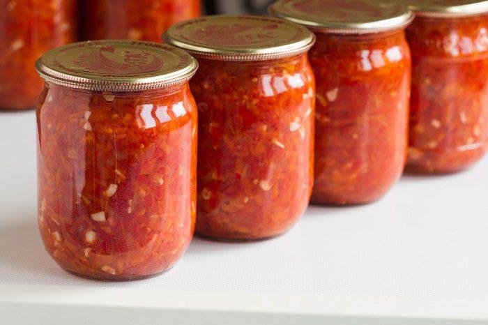 Аджика на зиму рецепты без помидор