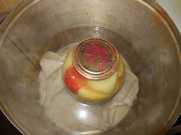 Маринованный фаршированный перец на зиму