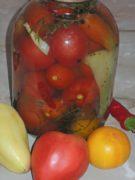 Маринованные помидоры с тархуном