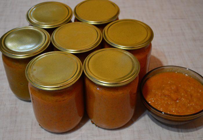 Маринованные баклажаны с морковью и зеленью  рецепт с