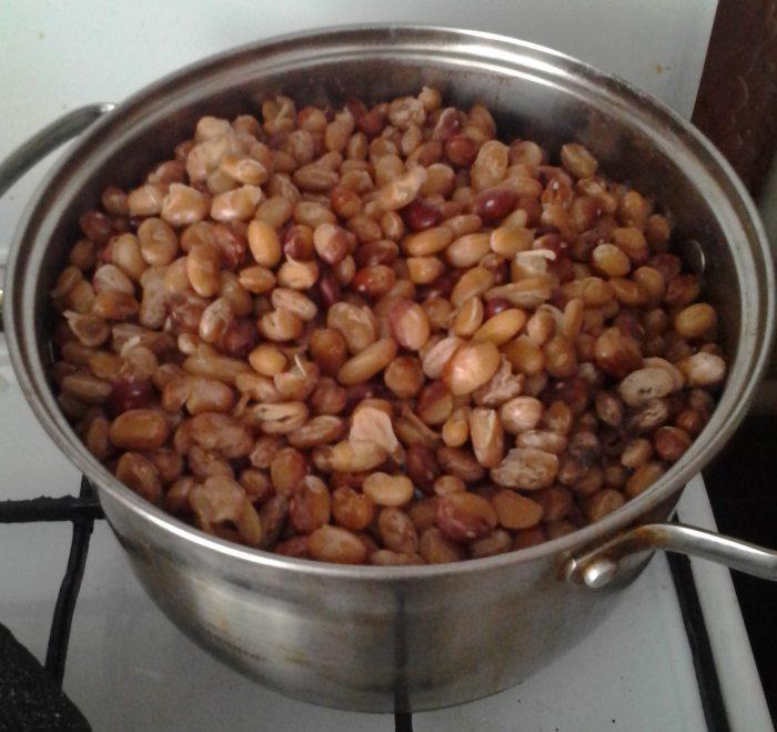 Cалат с фасолью на зиму