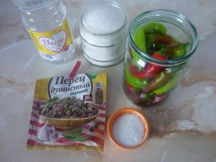 Как консервировать горький перец