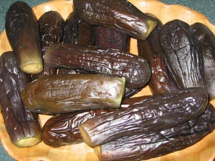 Способ четвертый: как заморозить баклажаны, запеченные в духовке