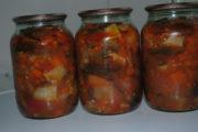 Баклажаны в томате на зиму без стерилизации
