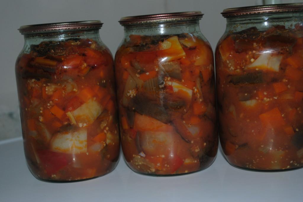 баклажаны рецепты приготовления без стерилизации