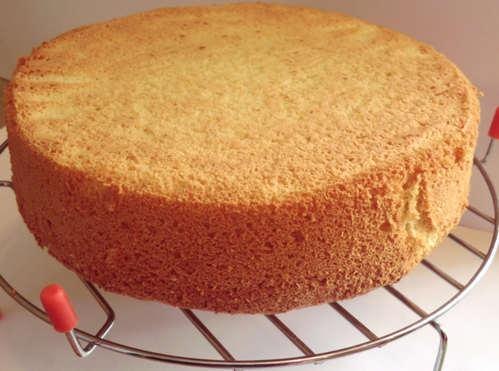 Бисквитный торт домашний торт