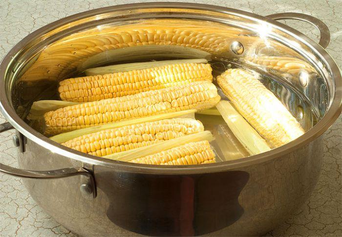Бланшируем кукурузу