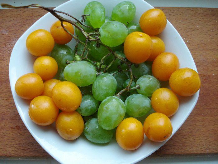 Варенье из сливы и винограда на зиму