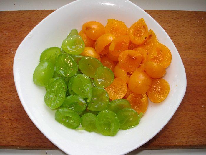 Варенье из сливы и винограда