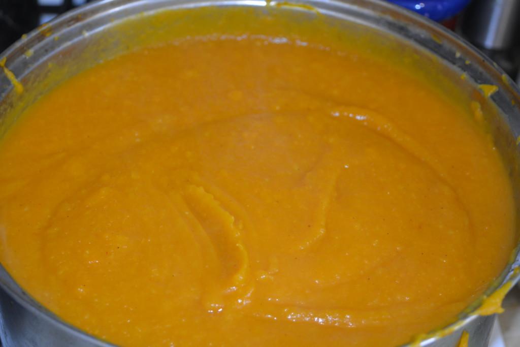 Готовое овощное пюре