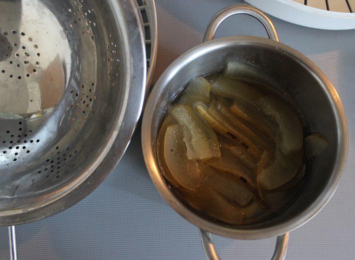 Как приготовить цукаты из груш