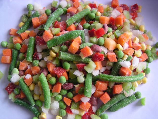 овощи замороженные