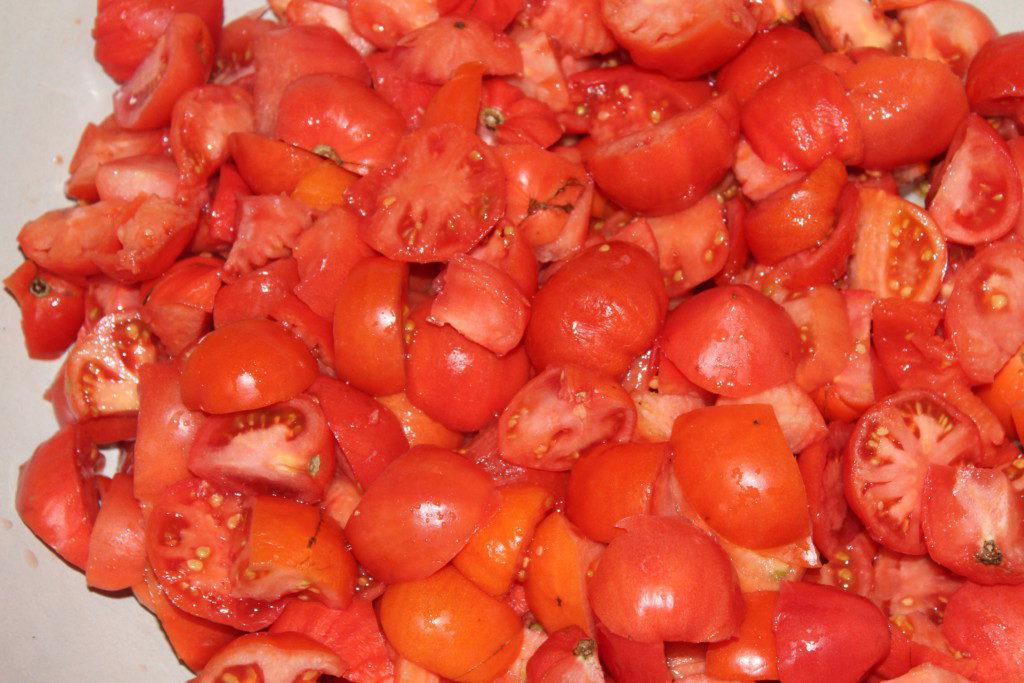 Лечо из огурцов и перца с помидорами