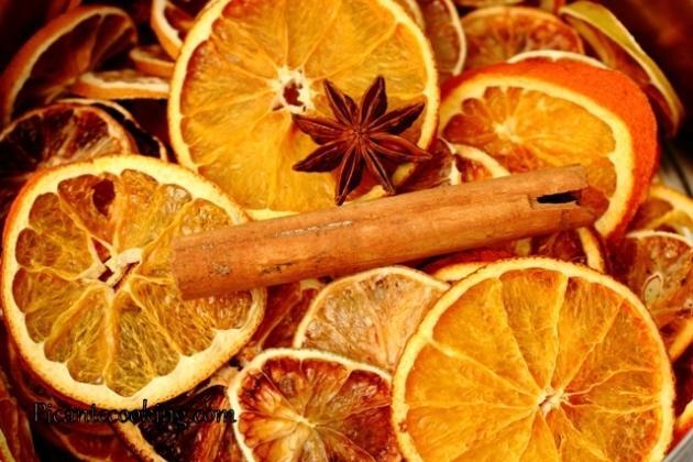 Как сушить апельсин