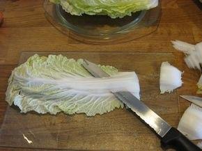 заморозка пекинской капусты