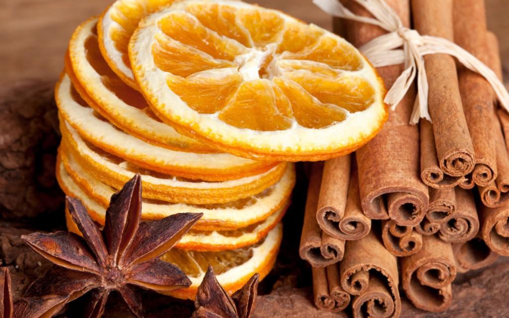 Как сделать дольки апельсина сушеными