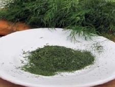 Сушка зелени в духовке