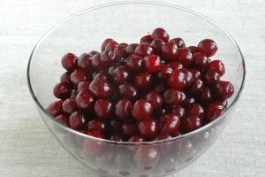 сушение вишни