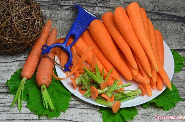 Как сушить морковь