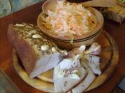 Сухая засолка сала с чесноком и тмином