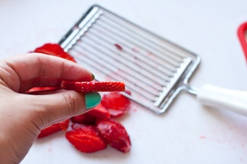 Как сушить клубнику