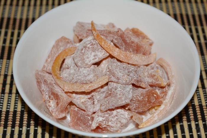 Цукаты из тыквы с апельсинами