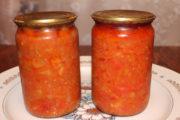 салат из кабачков, моркови и перца