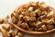Сушка сухарей в домашних условиях - простые способы использования черствеющего хлеба