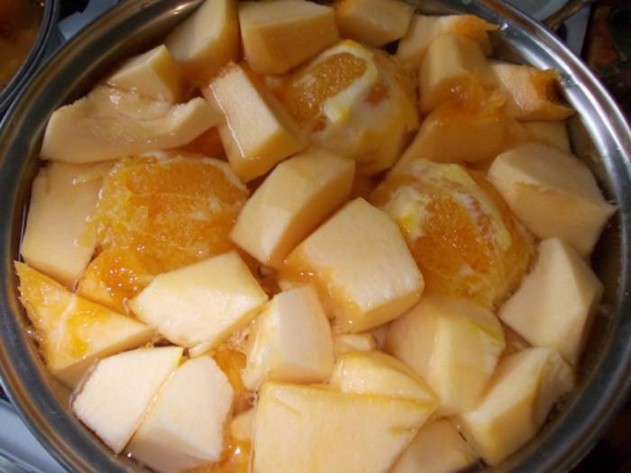 тыквенный сок на зиму с апельсинами пошаговый рецепт с фото