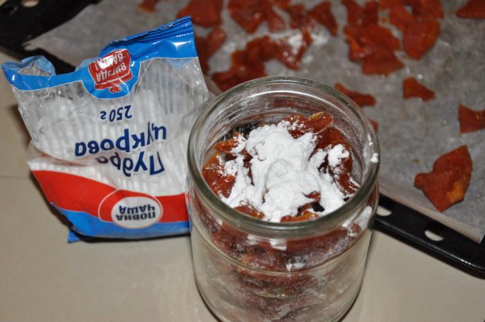 Тыквенные цукаты в духовке