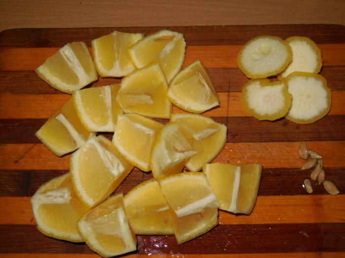 Смесь лимона, имбиря и меда от простуды
