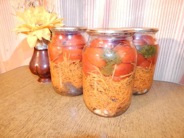 помидоры самый вкусный рецепт на зиму салаты