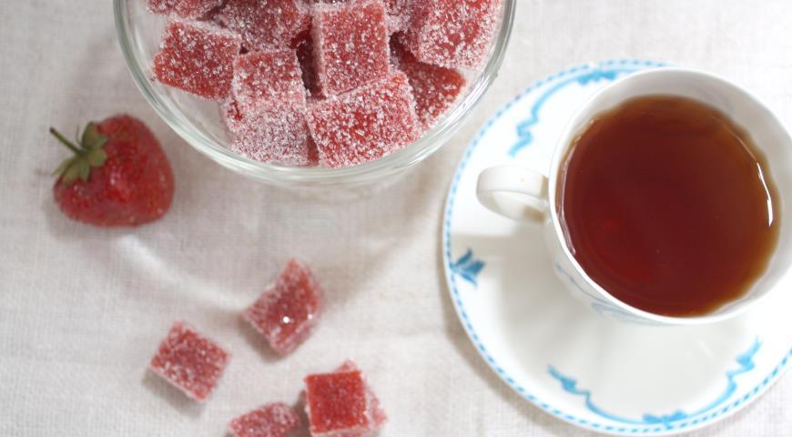 рецепт желе и мармелада из клубники