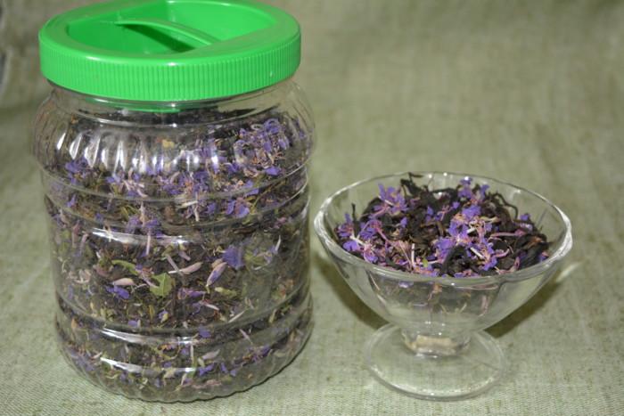 Ферментированный Копорский чай из листьев Иван-чая