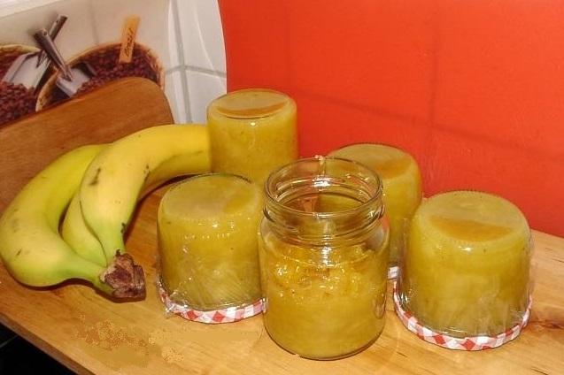 мармелад из бананов