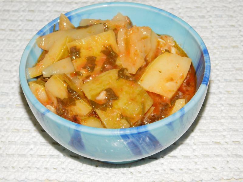 Рецепт приготовления блюд из кабачков