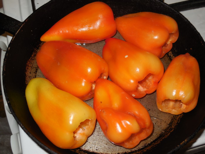Как сделать жареный перец на зиму 516