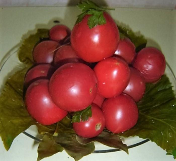 Консервированные газированные помидоры